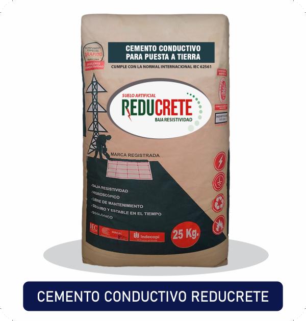 Mejorador cemento conductivo Reducrete