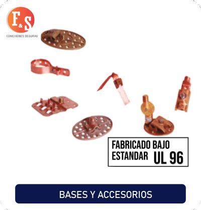 Bases y accesorios FyS